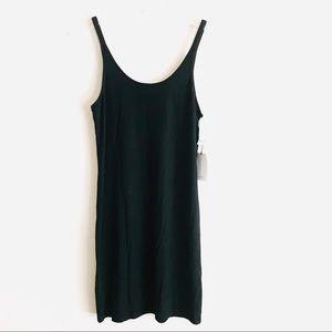 NWT Aritzia Babaton Travis Black Tank Dress Large
